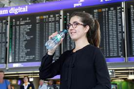 FRAPORT: Drinking Fountains, Bottle Filling Stations and Warm Water Dispensers