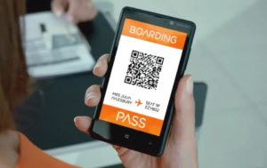 Airline board pass app
