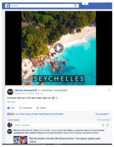 Seychelles video goes viral: Exceeds 2 million views