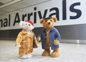 The Bears are back in town: Heathrow unveils new Christmas ad