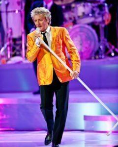 Rock icon Rod Stewart returns to Las Vegas in June 2018