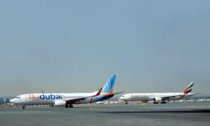 What are the new codeshare destinations for Emirates and flydubai?