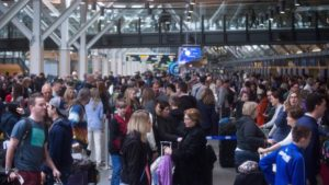 Boxing Day at Vancouver International Airport