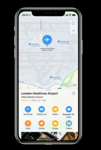 Heathrow brings detailed terminal maps to Apple Maps