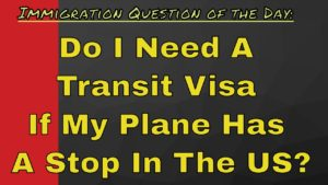 Transit Visas for the United States? Why ? UNWTO Secretary General agrees…