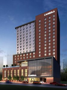 "Cambria Hotel opens in ""Music City"" Nashville, Tennessee"