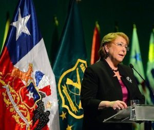 Outgoing Chilean President Michelle Bachelet gets a WHO post