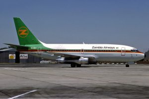 Zambia Airways back in service