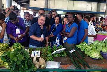 Agriculture, Cuisine and Tourism: A winning combination in Solomon Islands