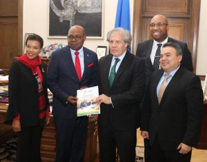Jamaica Tourism Minister moves policy with OAS, World Bank