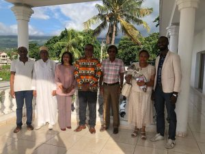 Comoros welcomes the Clinton Foundation & the Mauritius Minister of Tourism