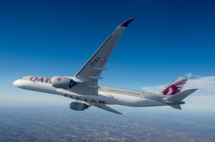 Qatar Airways' cutting-edge Airbus A350 lands in Atlanta