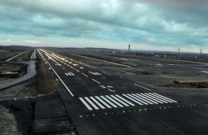 The lights are on: Istanbul New Airport's first runway ready for takeoff and landing