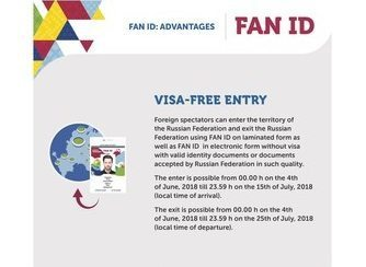 Foreign spectators of 2018 FIFA World Cup can exit Russia with electronic FAN ID