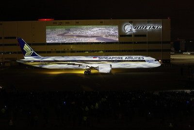 Boeing 787-10 Dreamliner: A first one for Singapore Airlines