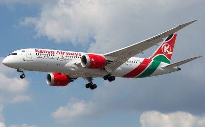 Kenya Airways anxious over opening up of African skies