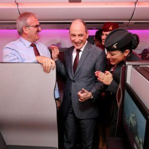 Qatar Airways steals the limelight on the opening day Of Eurasia Airshow