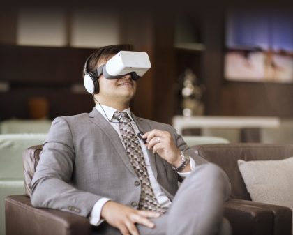 Etihad Airways Virtual Reality Technology and how it will be used?
