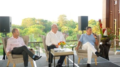Execs drop in to celebrate 1st anniversary of Mövenpick Resort & Spa Jimbaran Bali