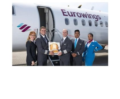 Eurowings doubles Cornwall Airport Newquay's German connections