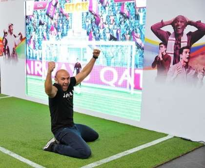Qatar Airways celebrates 2018 FIFA World Cup with 'Goal For Difference'