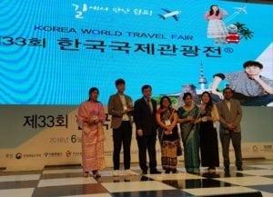 Korea World Travel Fair (KOFTA): Nepal Tourism awarded
