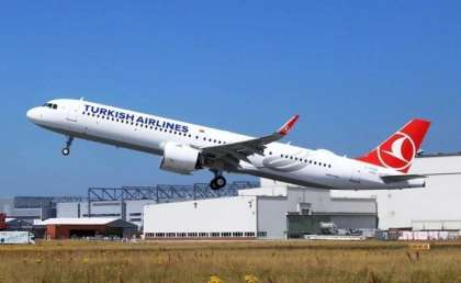Airbus delivers first A321neo in Cabin Flex configuration to Turkish Airlines