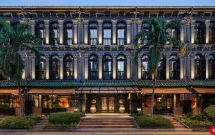 The winner for the number one hotel in Singapore is……