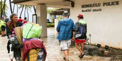 Tourist attack in Waikiki by homeless man