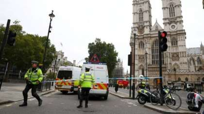 London police: Car crash near UK Parliament terrorist attack