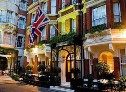 UK hotels record increase in room occupancy and rates