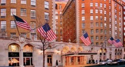 The Grande Dame of Washington: Hotel of Presidents