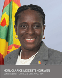 Message from Grenada's Minister for Tourism and civil aviation