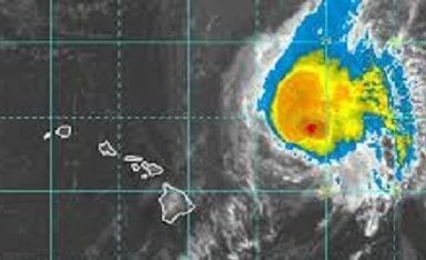 Tropical Storm Olivia forecast to weaken as she passes over Maui