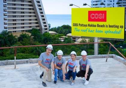 COSI branded hotel opens in Pattaya
