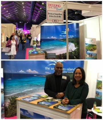 Seychelles conquers well-frequented Irish bridal show