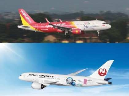 New codeshare: Japan Airlines and Vietjet