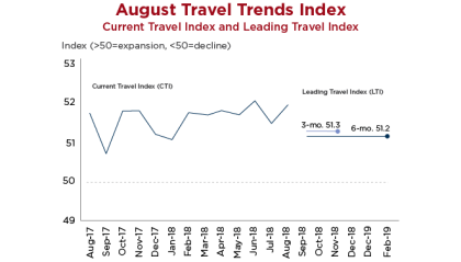 Travel Trends Index: Domestic travel a bright spot, but…