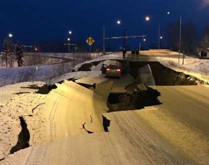 Huge 7.0 earthquake hits Anchorage, Alaska