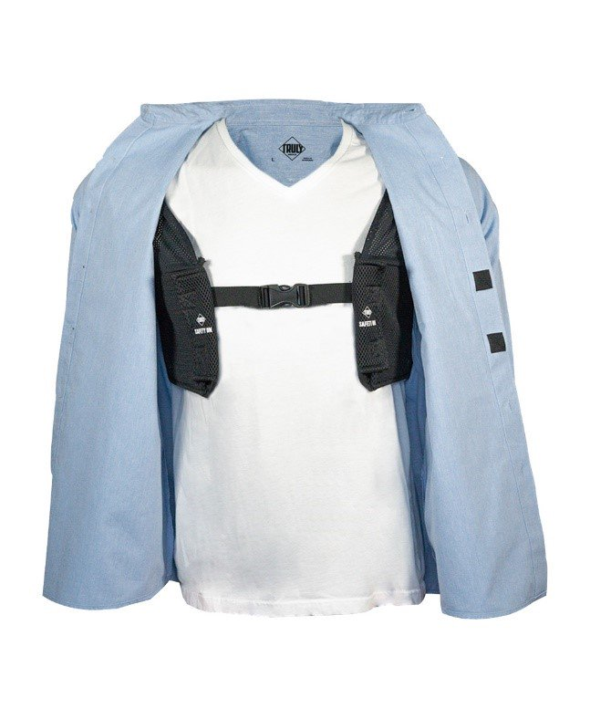 Travel alert! Everyday Carry Shirt to prevent pickpocketing?