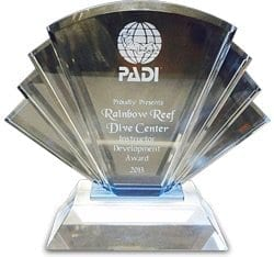 Diving in Fiji? The PADI Green Star Dive Centre Award goes to ……