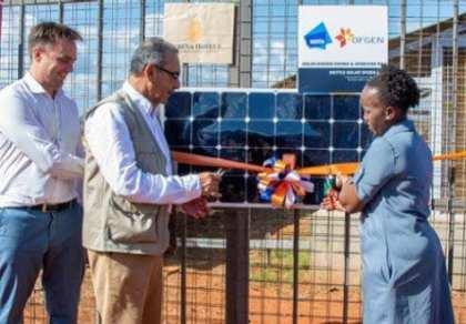 Kenya's first 100% solar hotel