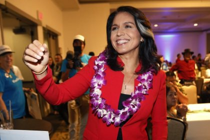 Tulsi Gabbard US President in 2020? She told CNN but not her father