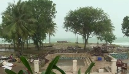 Another tsunami heading to Indonesia? New cracks