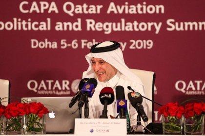 Qatar Airways GCEO delivers keynote address at CAPA Aeropolitical and Regulatory Summit