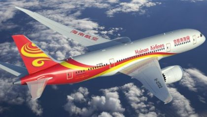 Hainan Airlines launches nonstop service between Guiyang, China and Paris, France