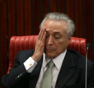 Brazil's former president Michel Temer arrested
