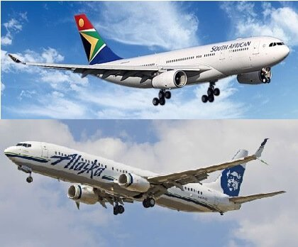 South African Airways and Alaska Airlines launch new interline agreement