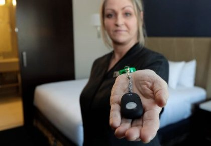 Giving hotel workers security: New Jersey governor signs 'panic button' bill
