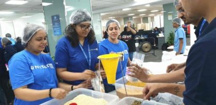 United Airlines: 1 millionth meals packed to fight world hunger